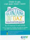 QINZAINE DU GAZ du 17 Mars au 1èr Avril 2018